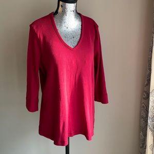 10/$25 Vintage Red top
